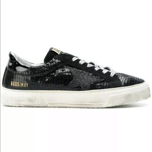 GOLDEN GOOSE BLACK SNEAKERS AWESOME CONDITION